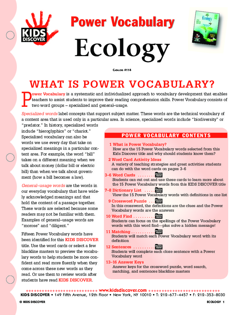 Printables Ecology Vocabulary Worksheet ecology vocabulary worksheet davezan collection of bloggakuten