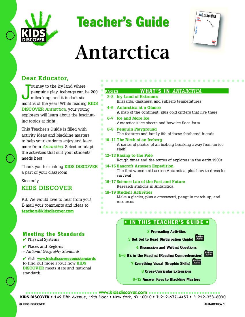 Antarctica - Kids Discover